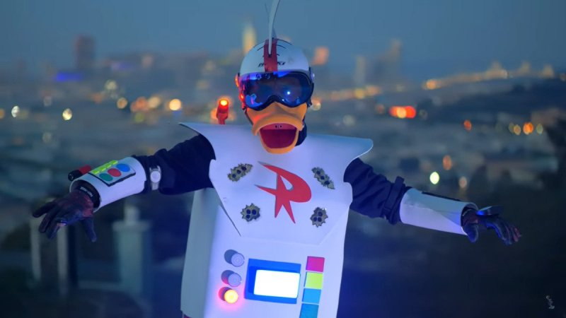 costume di robopap di ducktales