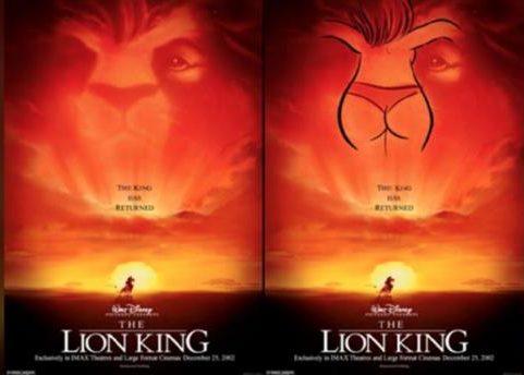 il re leone messaggi subliminali