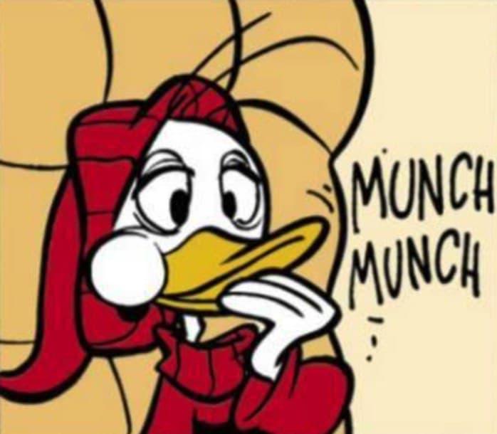 munch onomatopee