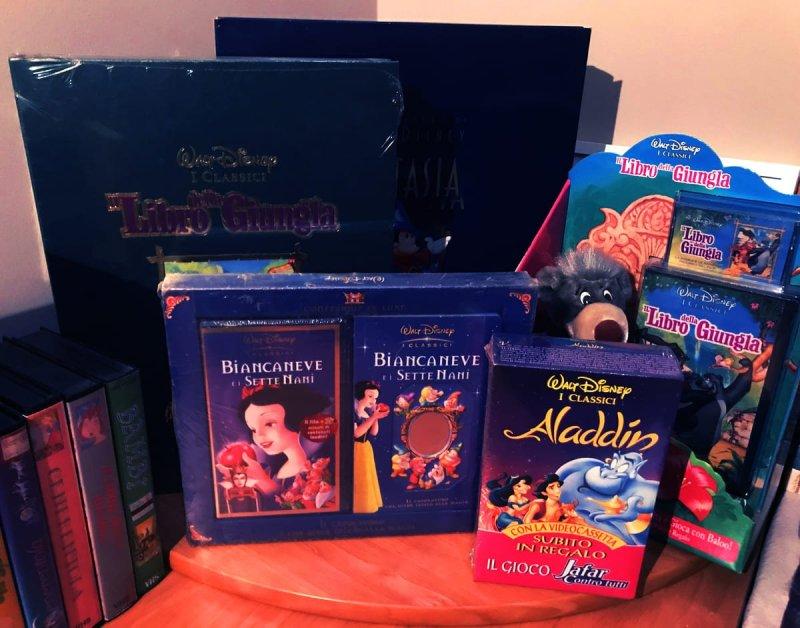 confezioni regalo VHS Disney