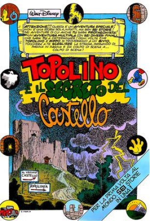 Prima pagina di Topolino e il segreto del castello