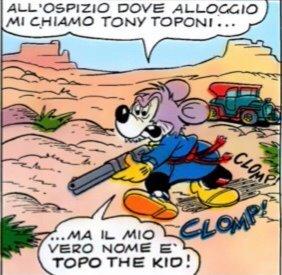Topo the Kid invecchiato