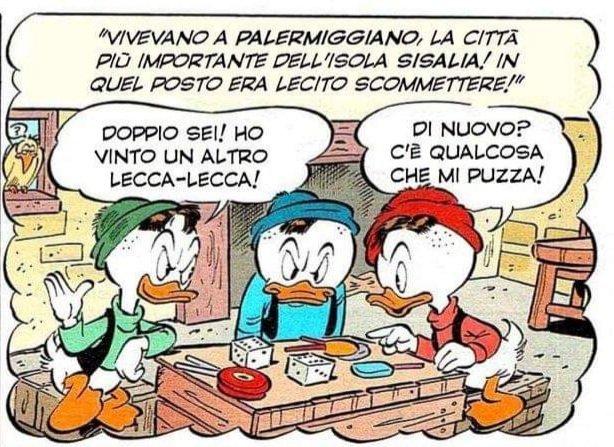 """""""Paperino e il padrino della pizza"""": Sisalia e Palermiggiano"""