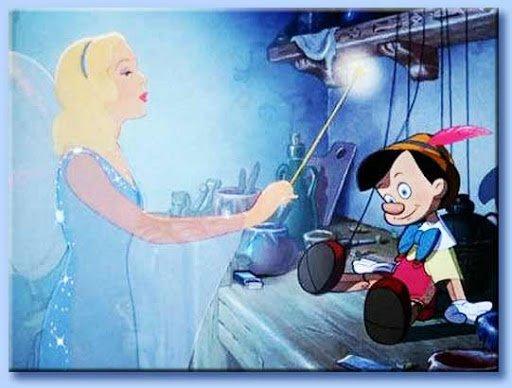 Pinocchio fata azzurra