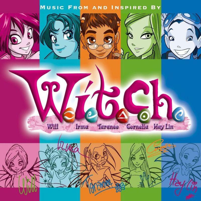 CD cover W,I,T.C.H.