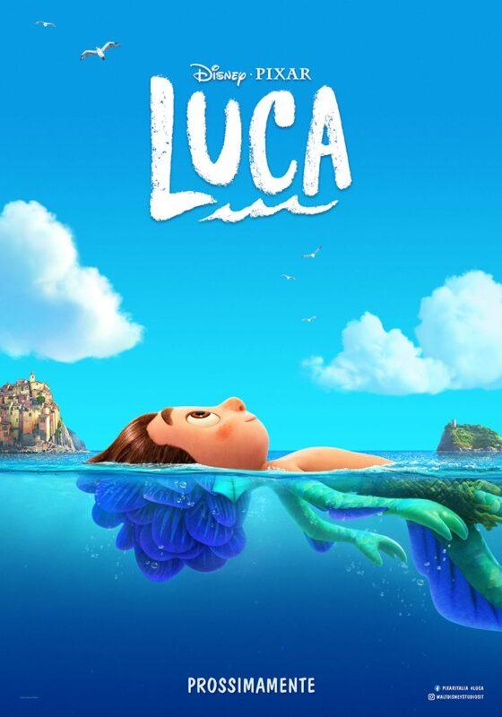 luca trailer poster