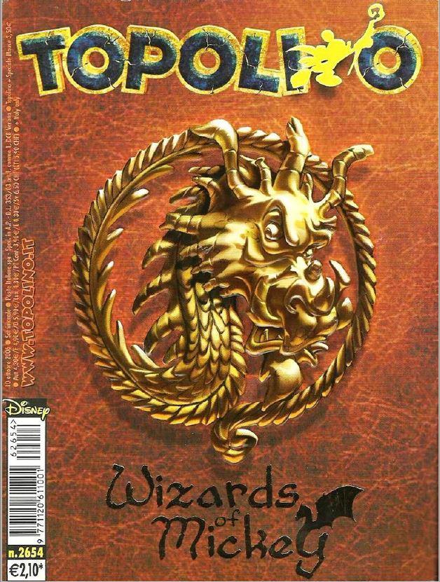 copertina Wizards of Mickey