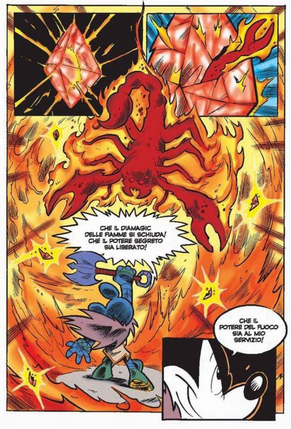 diamagic fuoco scorpione wizards of mickey