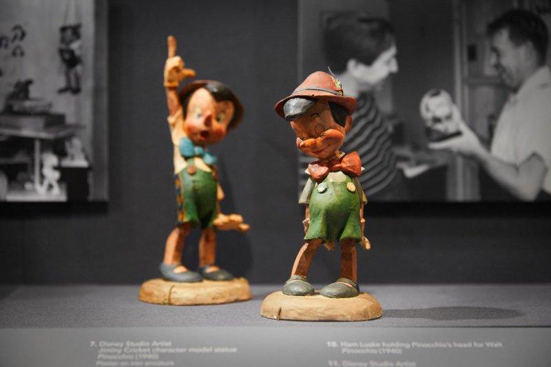 Pinocchio maquettes