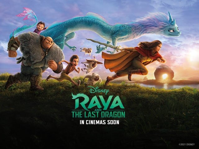 squadra raya e l'ultimo drago