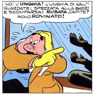 Topolino e l'unghia di Kalì