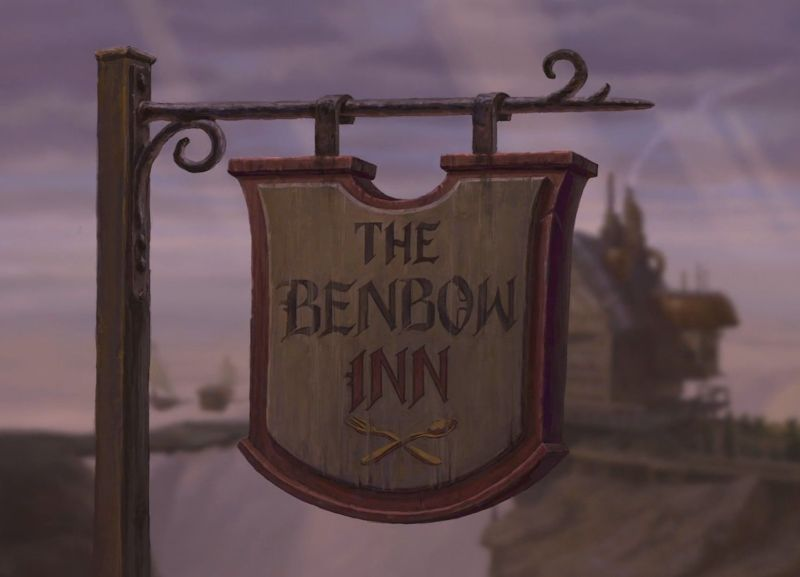 Benbow Inn pianeta del tesoro