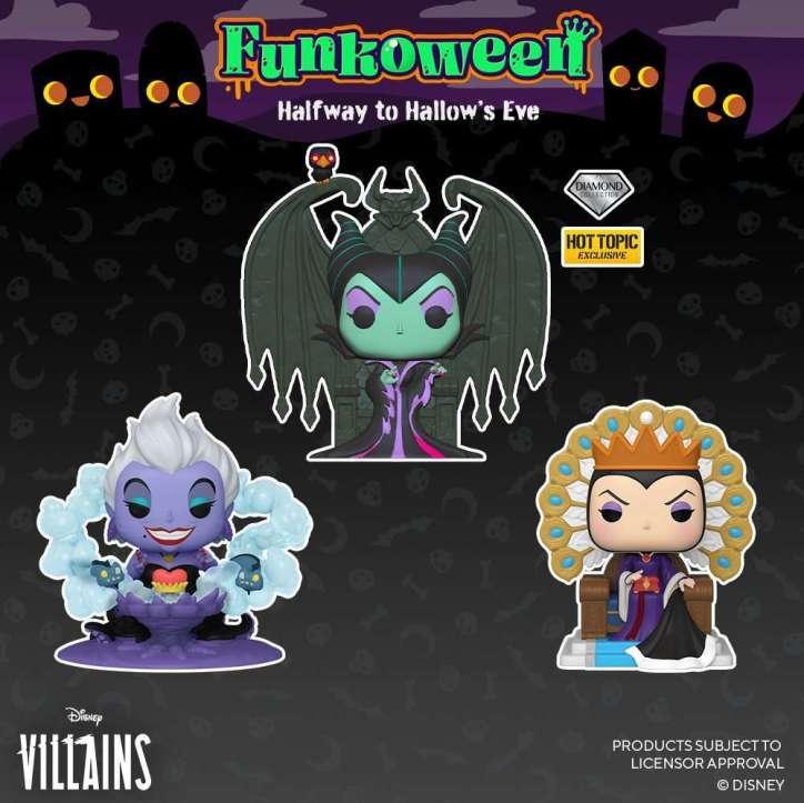 pop disney villains