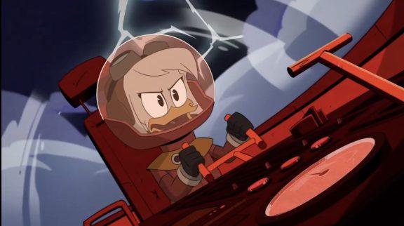 della duck schianto sulla luna