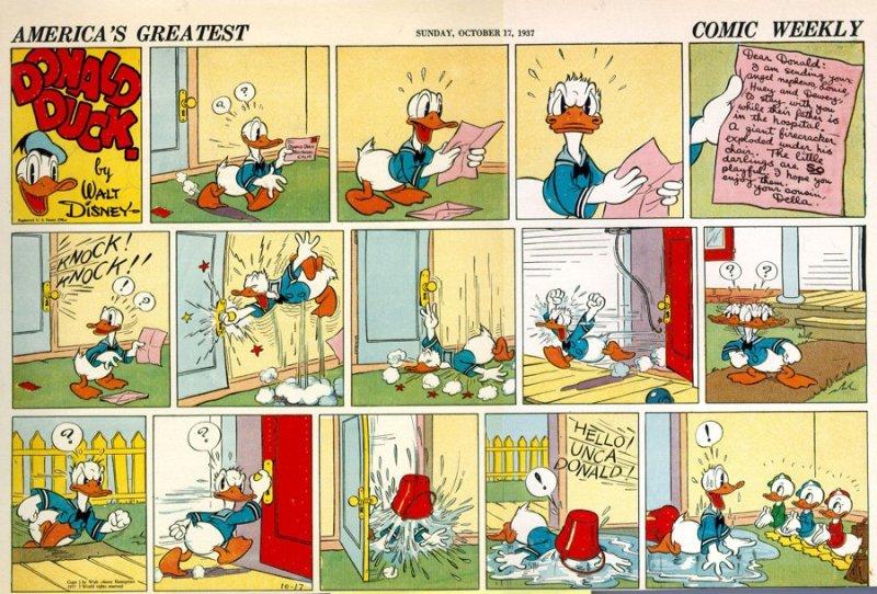 della duck esordio