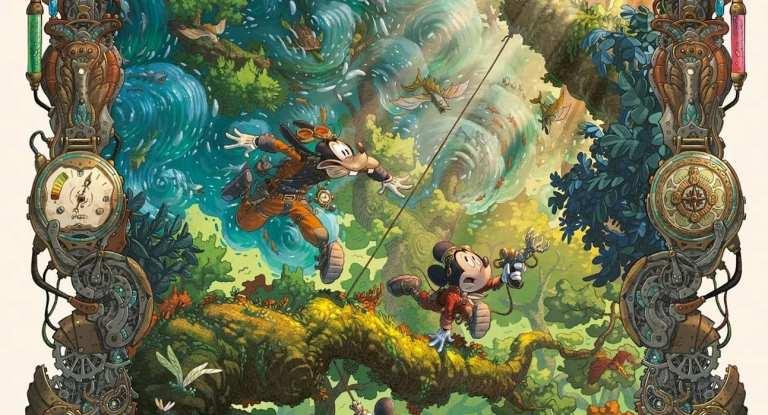 mickey mouse e l'oceano perduto
