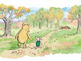 Disegno originale di Winnie the Pooh