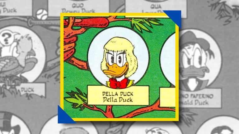 della duck