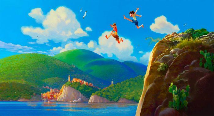 luca pixar artwork