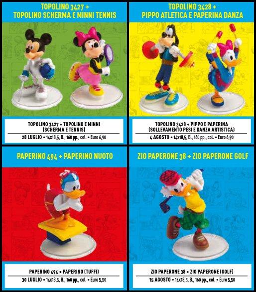 luglio topolino sport collection