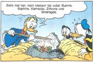 Gastone Paperone tedesco altre lingue