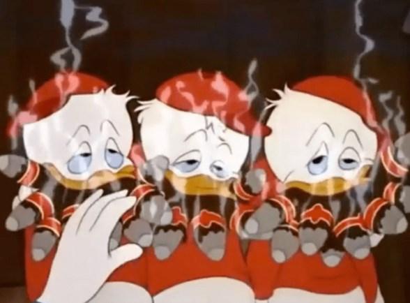 Qui, Quo e Qua fumatori.