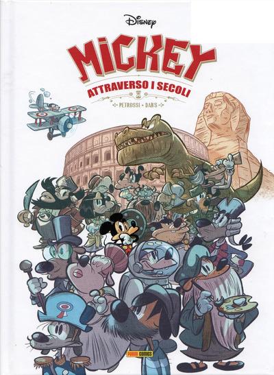 Copertina di Mickey attraverso i secoli