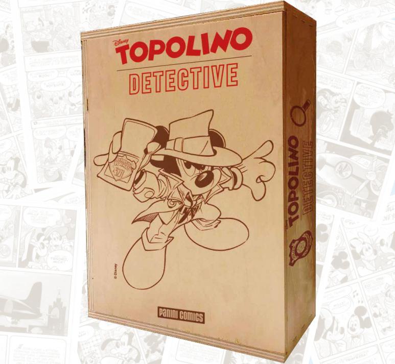 topolino detective box supergiallo