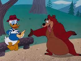 Paperino e l'orso humphrey