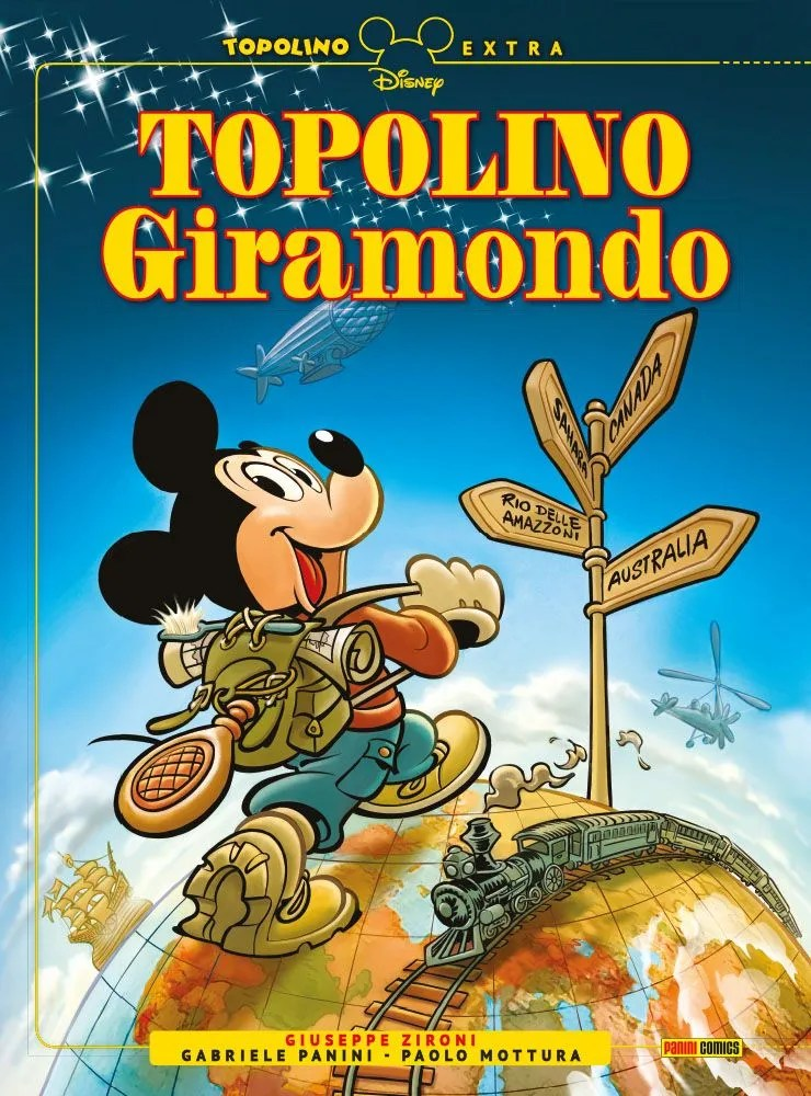 Topolino Giramondo copertina