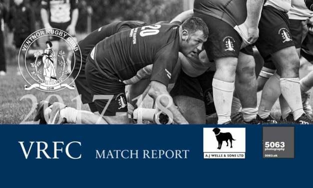 Match report: Fordingbridge 1st XV v Ventnor 1st XV, 30/09/2017