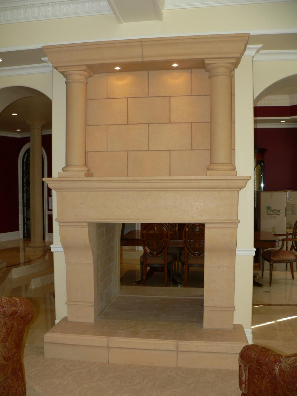 Cast Stone Mantels Home Decor