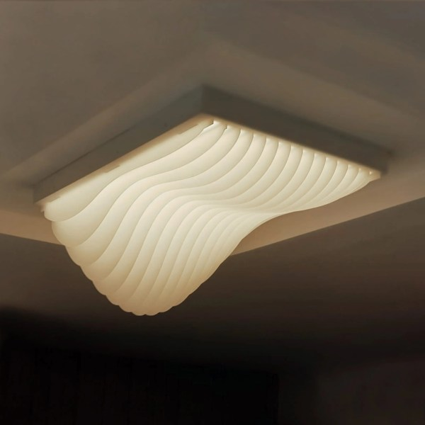 waves surface light fixture
