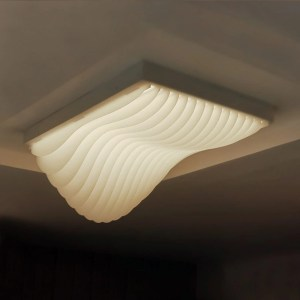 waves surface light fixture