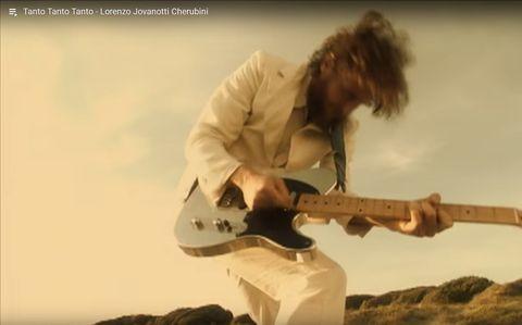 Jovanotti e la Noah Guitars