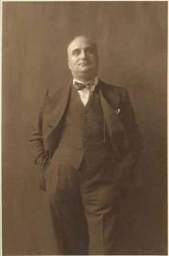 Angelo Rizzoli fondatore dell'omonima casa Editrice