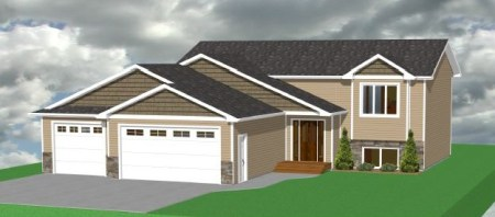 Split Level Floor Plans     Venture Homes Floor Plan  Lion   1 148 SF