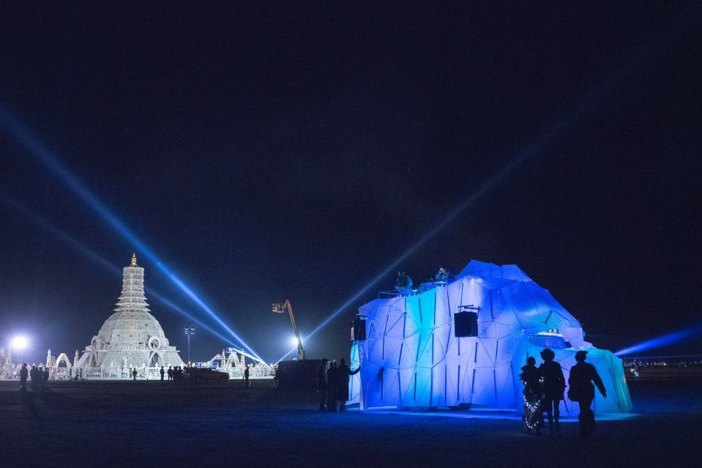 Titanic's End, Burningman 2014