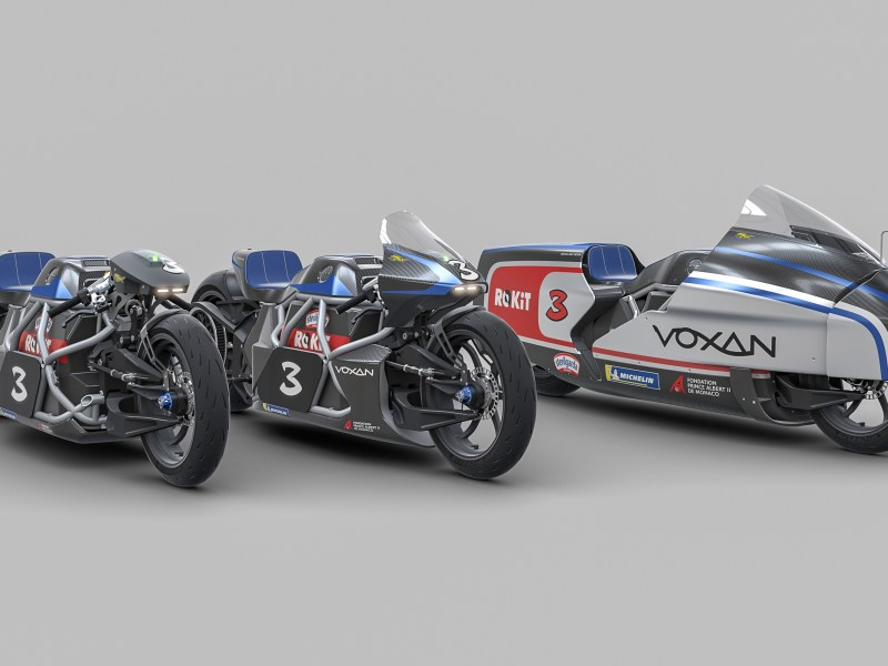 Voxan will attempt to set 12 new electric motorcycle world speed records