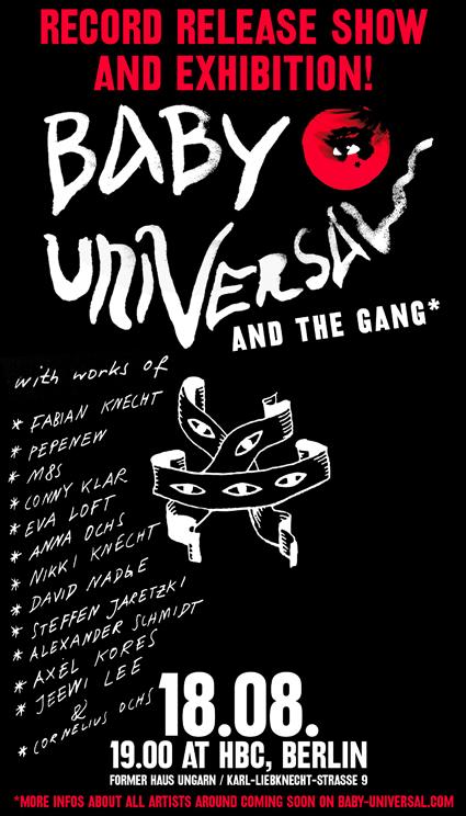 Flyer: Universal Baby Releaseparty