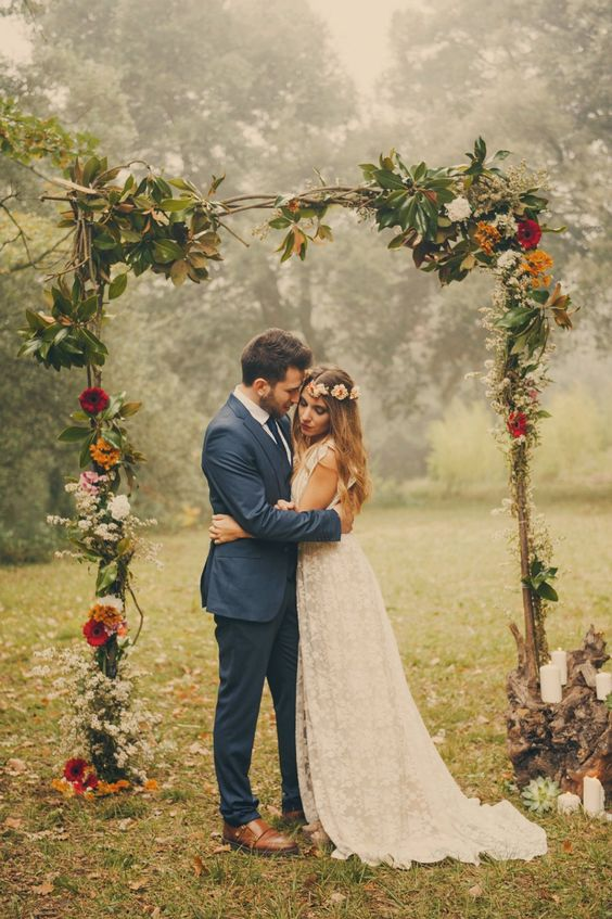 Wedding Style Trend Boho Chic Venue At The Grove