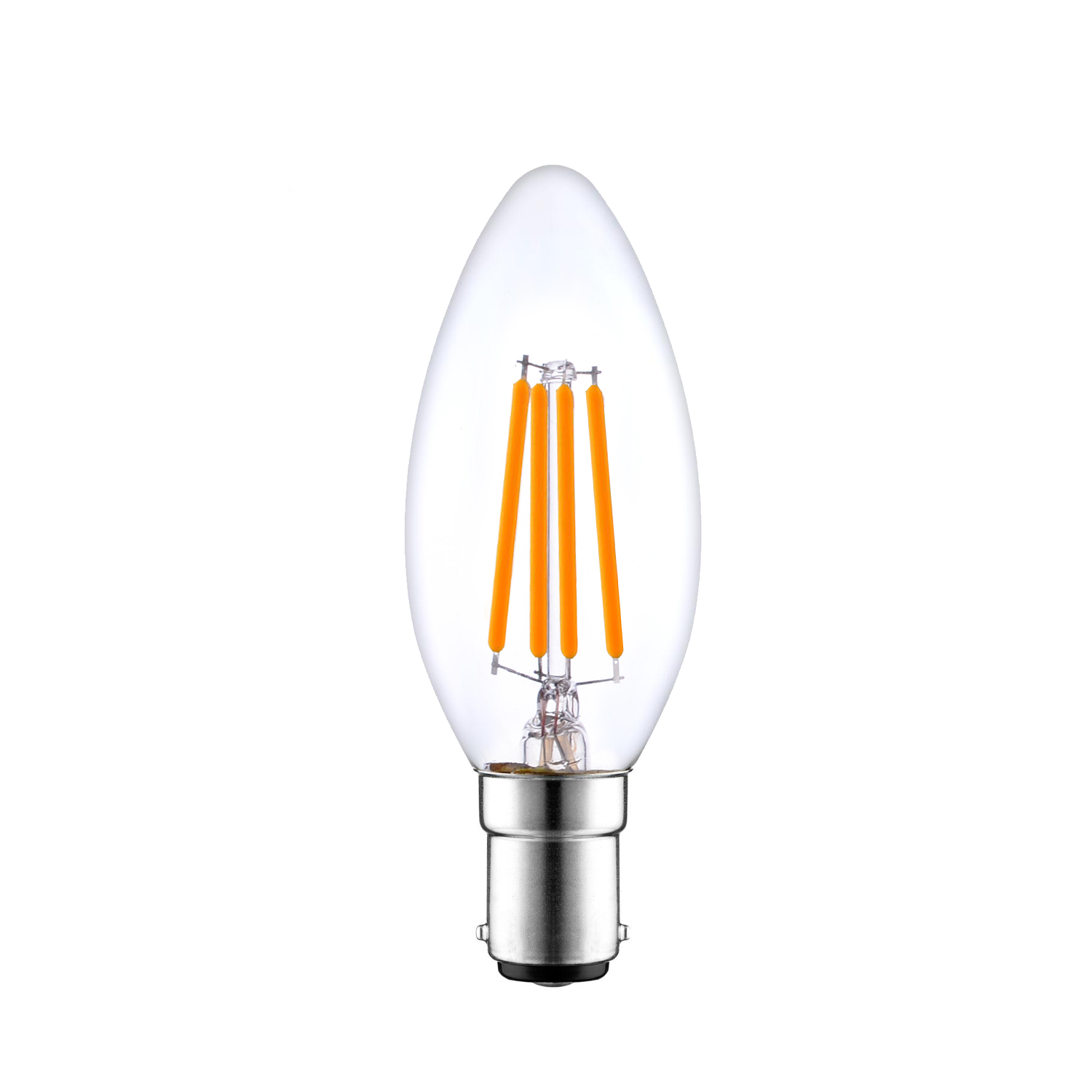B15 Dimmable Led Candle Bulb Filament Venusop Led Light Bulbs