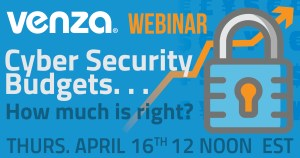 Cyber Security Budgets Webinar Graphic