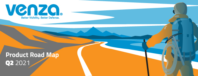 VENZA Product Road Map Q2 2021