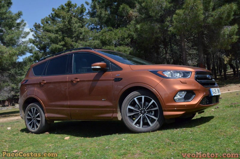 ford kuga st line awd 2 0 tdci 180cv el m s deportivo de. Black Bedroom Furniture Sets. Home Design Ideas