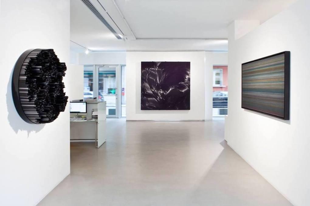 """""""Black. An Idea of Light"""", a cura di I. Bignotti and P. Tavazzani Formenti, 2015, Cortesi Gallery, Lugano, foto G. Agliardi."""