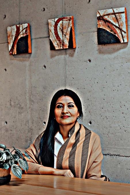 Teresa Carbajal, columnista.