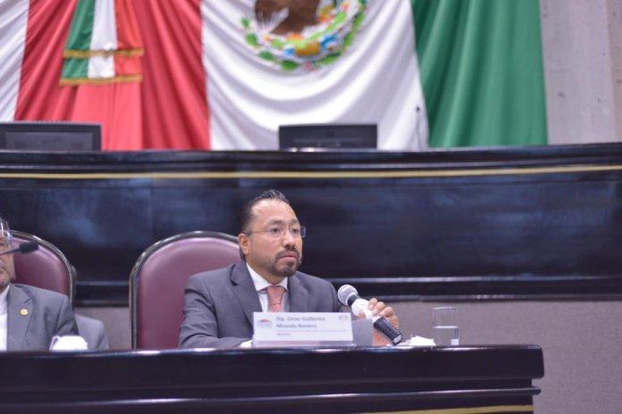 Omar Miranda, coordinador grupo legislativo del PAN.