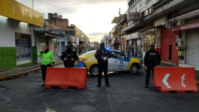 Cierran zonas comerciales en doce municipios de Veracruz por aumento en Covid-19