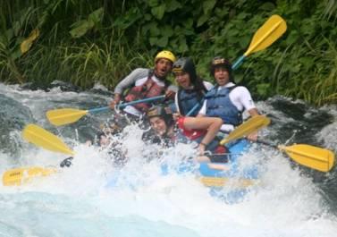 Rafting Descenso En Balsa Sobre El Rio Actopan Veracruz